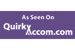 Quirky Accommodation Advertisement and Link